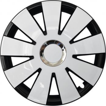 Nefryt chrome black white