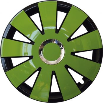 Nefryt chrome black green